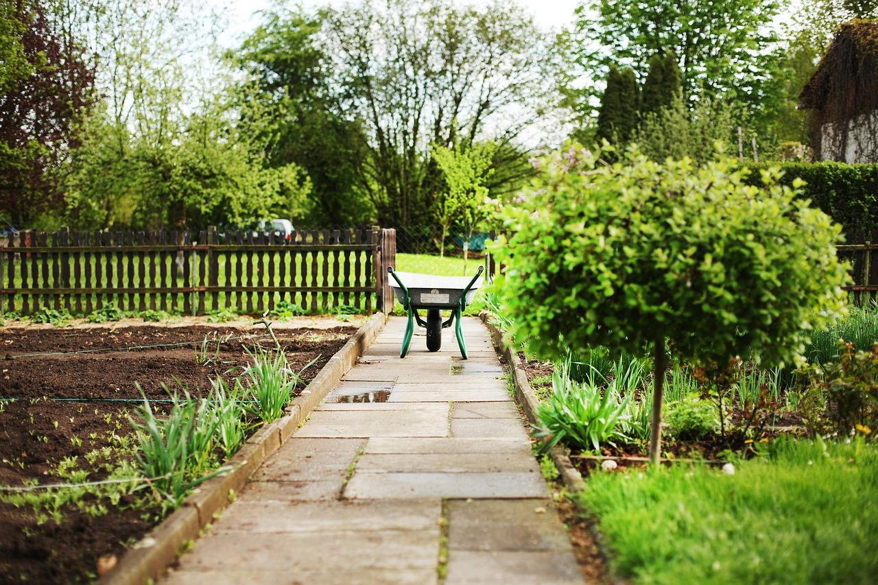 3 ideeën voor het inrichten van een kleine tuin